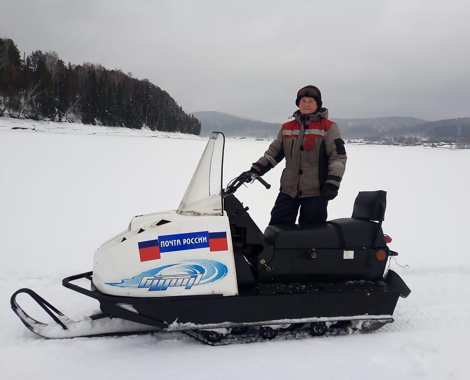 Почтальон-герой из Башкирии Алёна Алеева:  обслуживает 11 деревень, где нет ни дорог, ни телефонной связи