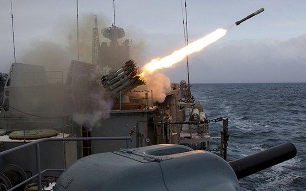 Американцы попали под огонь Калибров!