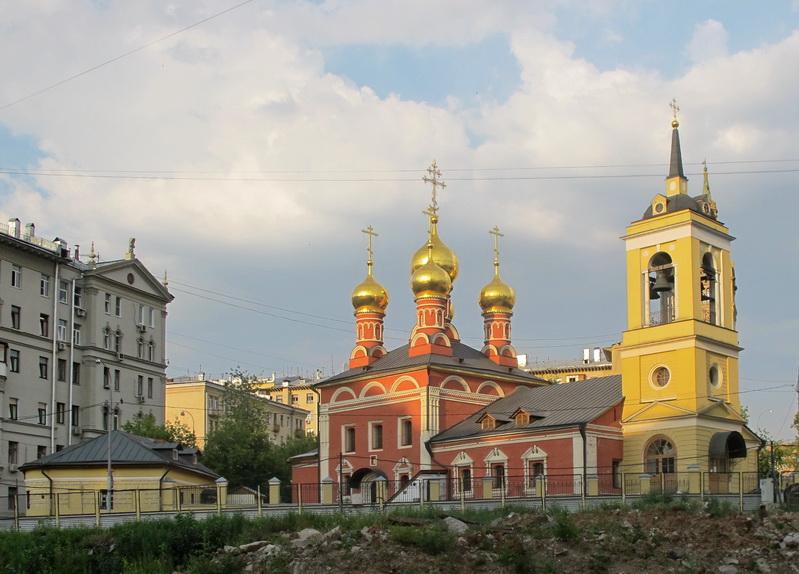 Храм Николая Чудотворца на Щепах. Москва. Россия