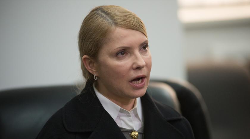 Тимошенко перелетела океан и бросилась в ноги Трампу