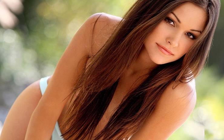Привлекательная внешность девушки