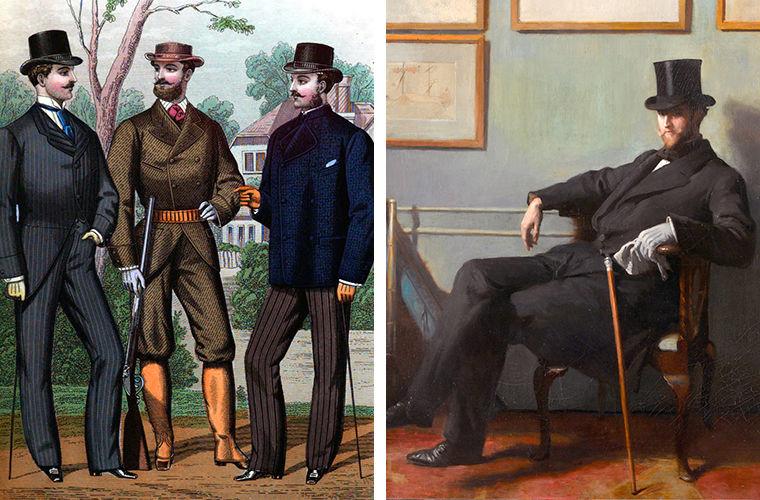 История появления брюк