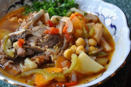 Бозбаш из баранины рецепт - (первые блюда)