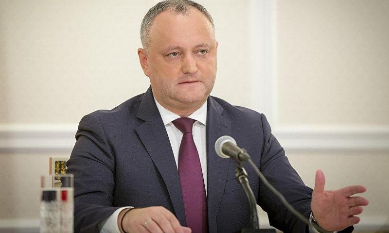 В Молдавии сторонники Игоря …