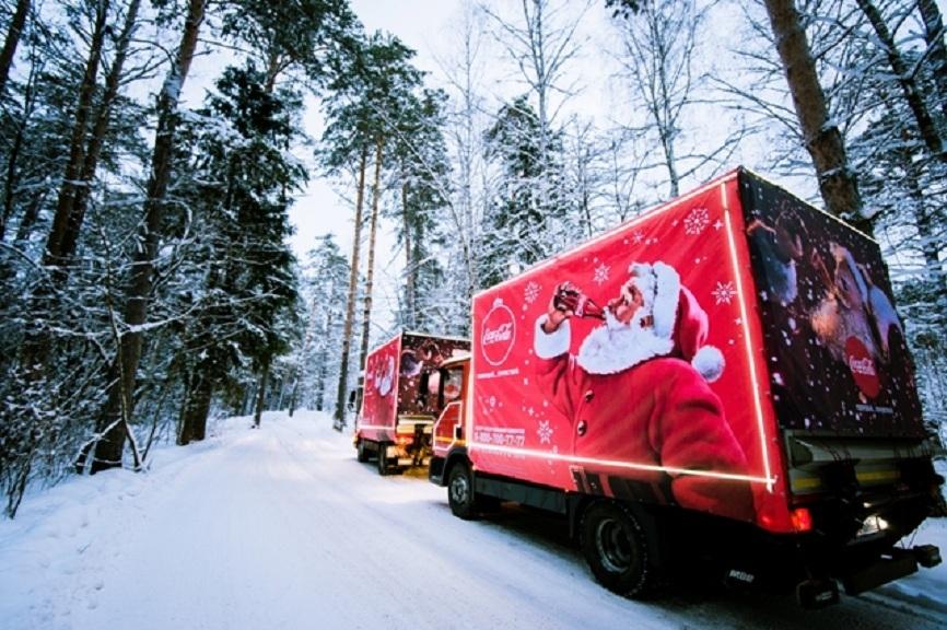 «Рождественский караван Coca-Cola» подарил праздник 12 000 детям по всей России