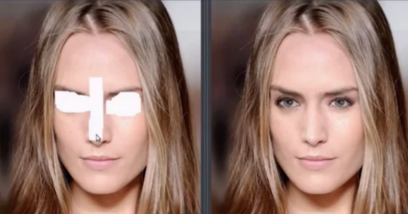 С новым инструментом для автозаполнения от NVIDIA вы больше не закрасите глаза кожей