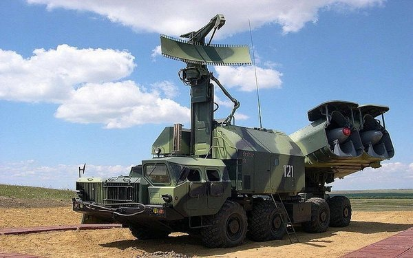 """Береговой ракетный комплекс """"Бастион"""""""