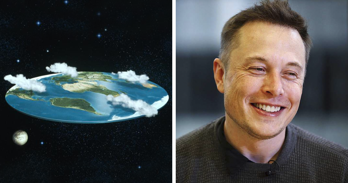 Elon Musk Destroys The 'Flat Earth Society' With A Single Question, And Their Reply Is The Pinnacle Of Irony