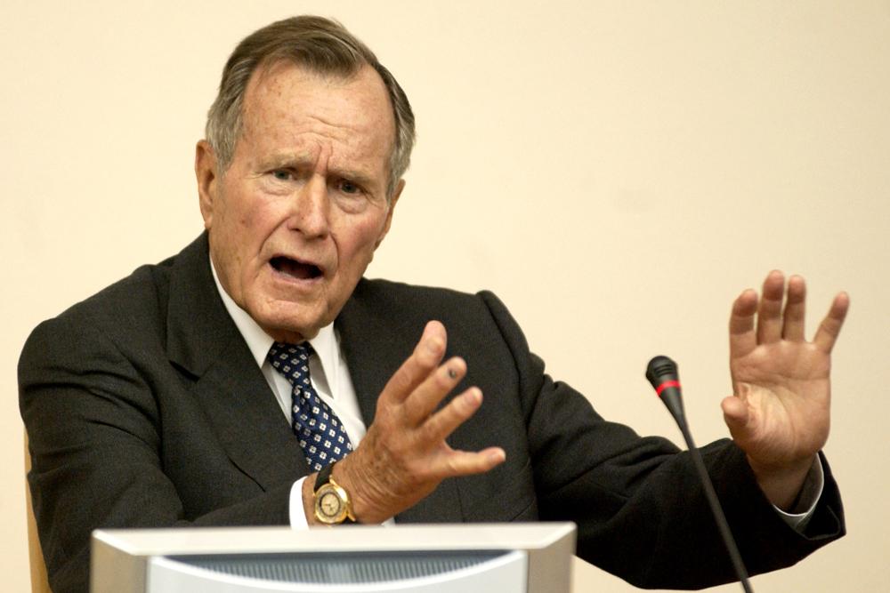 Горькая честность: шесть фраз Буша-старшего, которые стоит вспомнить