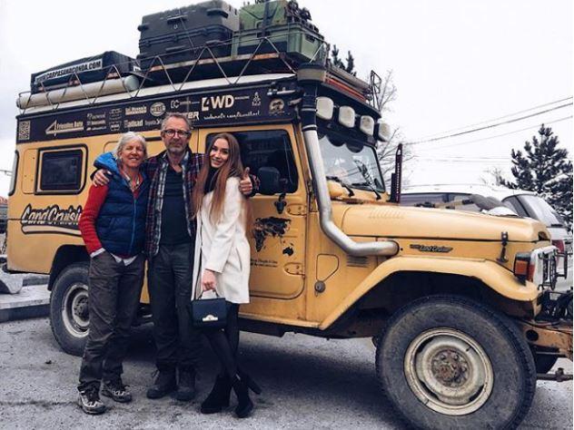 Голландская семья отправилась в автопутешествие по России