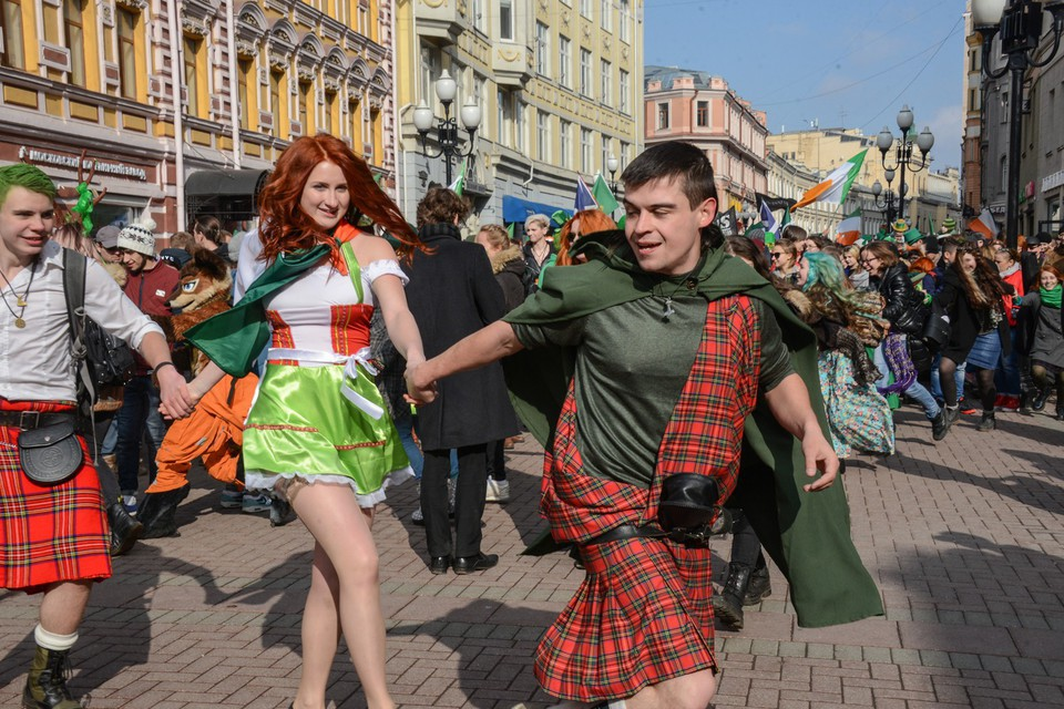 Как Москва отметила День свя…