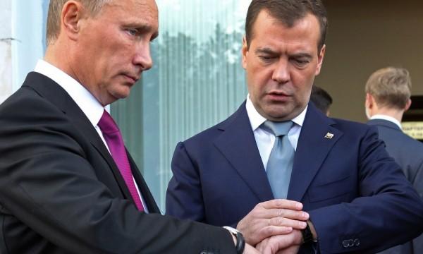 Какие часы носят Путин, Медв…
