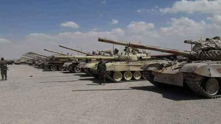Деньги не пахнут: казахские танки на службе сирийских боевиков