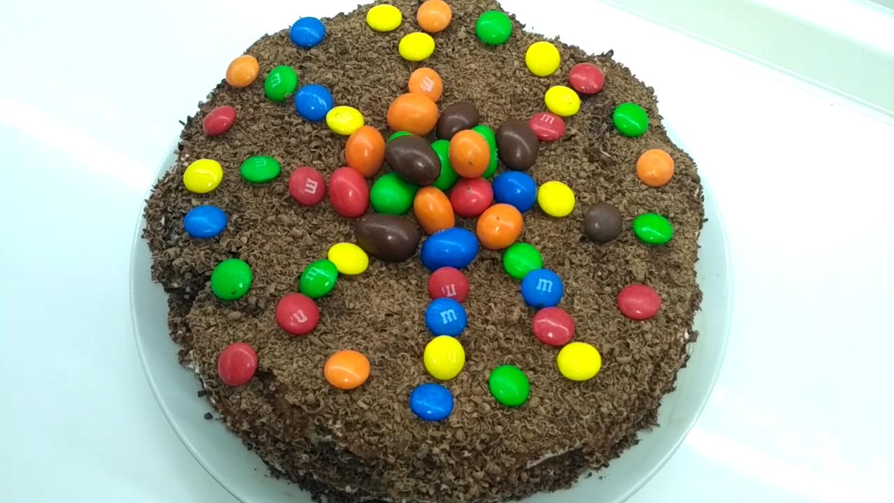 Быстрый торт без выпечки из пряников