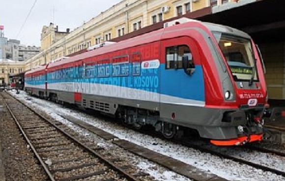 """В Косово не пустили поезд с надписью """"Косово – это Сербия"""""""