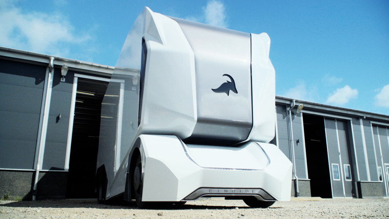 Einride T-Pod - шведский грузовик будущего