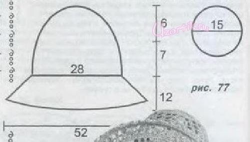 Схемы летних шляп связанных крючком