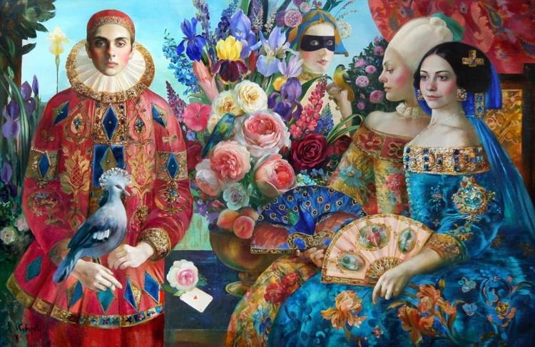 художник Ольга Суворова картины – 01