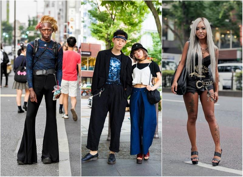 Модные персонажи на улицах Токио (36 фото)