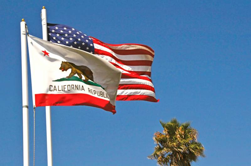 Развал США: Калифорния засоб…