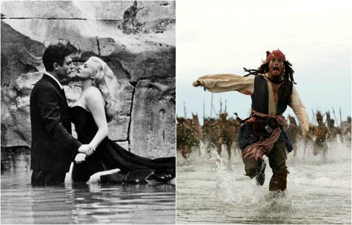 Искусство вне времени: 20 захватывающих кадров из культовых фильмов Голливуда