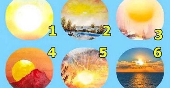 Тест на удачу: выбери солныш…