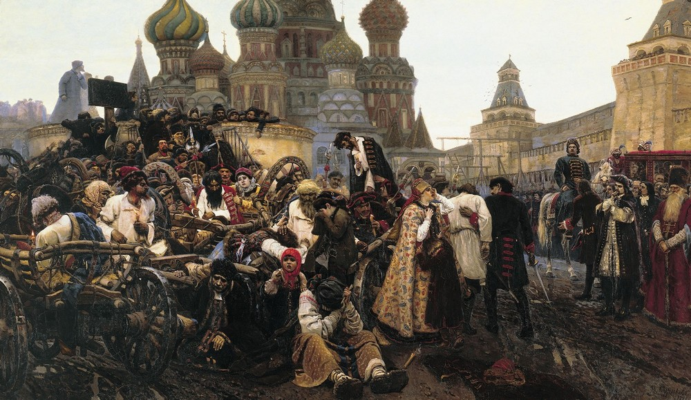 Картины Василия Ивановича Сурикова (1)