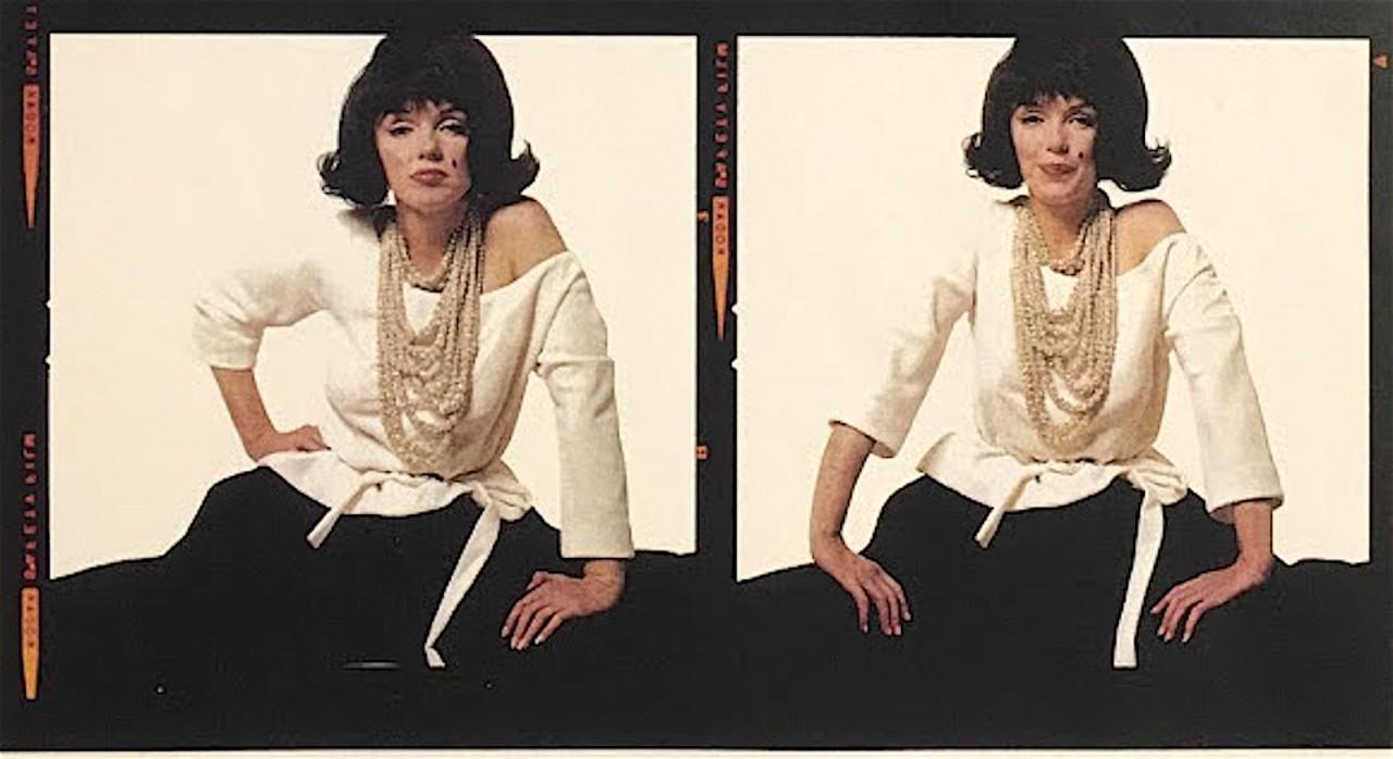 Мэрилин Монро в образе Джеки Кеннеди