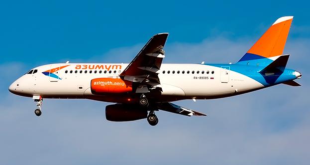 Азимут увеличит количество SSJ-100 в парке с 6 до 12 самолетов