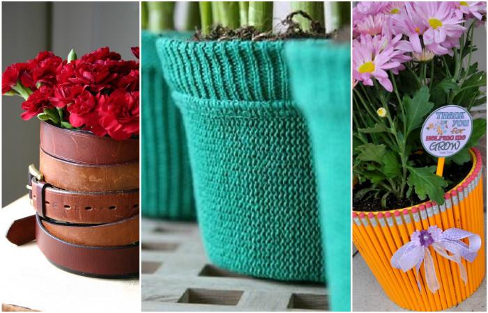 16 восхитительных идей, которые преобразят цветочные горшки до неузнаваемости