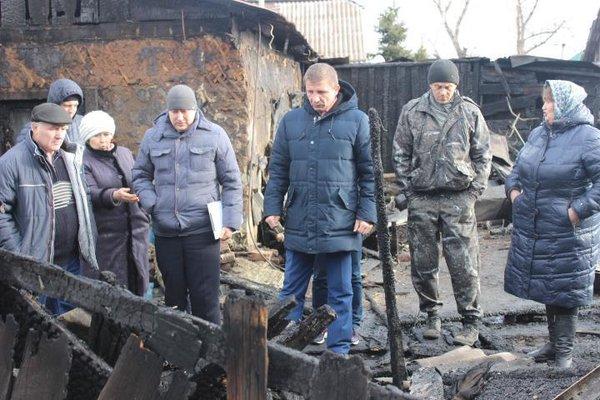 В Хакасии сожгли дом депутата Верховного Совета Республики