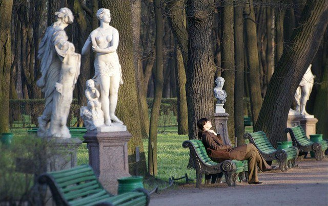 Самый старый парк Санкт-Петербурга
