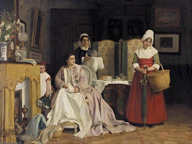 Художник Charles Baugniet (1814 – 1886). Мастер бельгийской академической живописи