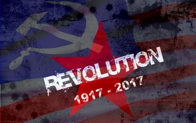 Великая Октябрьская социалистическая революция США