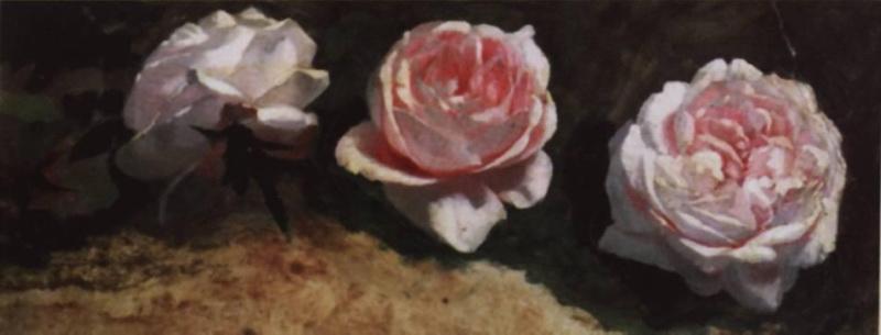 Стихи по картине Исаака Левитана «Пионы»
