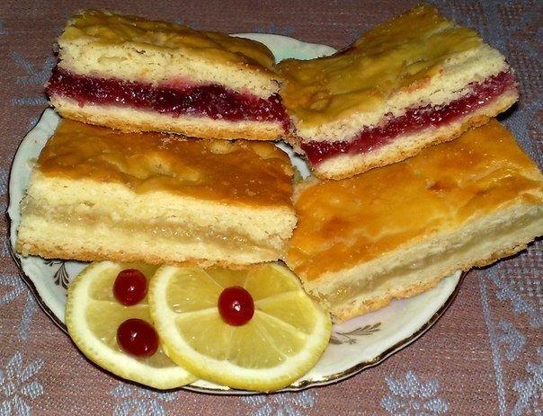 Универсальный рецепт для вкусного лимонного и клюквенного пирога с оригинальным и незабываемым вкусом