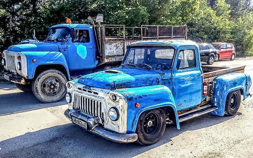 В Болгарии из советского грузовика ГАЗ-53 сделали настоящий хот род