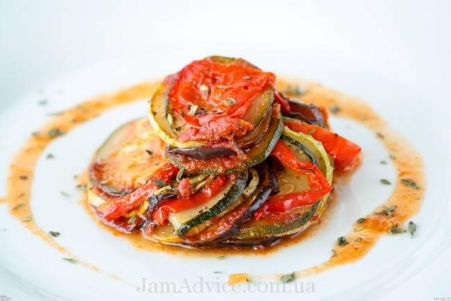 Классический рецепт рататуя  - прованское блюдо на вашем столе