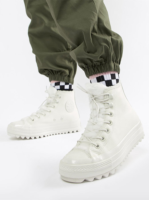 Стильно и тепло: зимние кроссовки