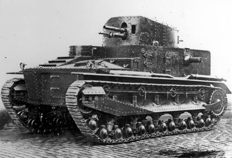 Средний танк Vickers Medium Tank Mk.I