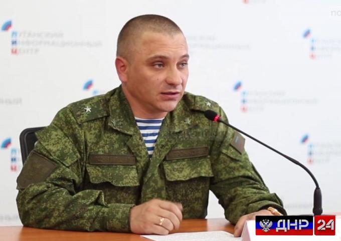 Срочное заявление официального представителя НМ ЛНР А. Марочко