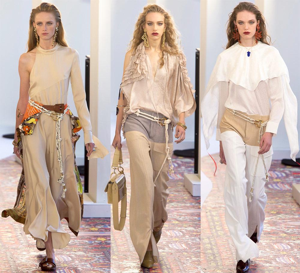Модная женская одежда весна-лето 2019 от Chloe
