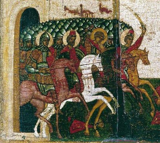 Численность войск Новгорода Великого в XIV веке по данным летописей .