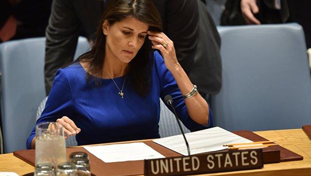Хейли заявила, что Сирия недостойна переговоров с США