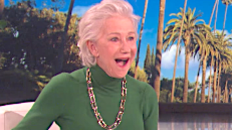 Helen Mirren Finds Out She's Younger Than She Thought, Has Best Reaction