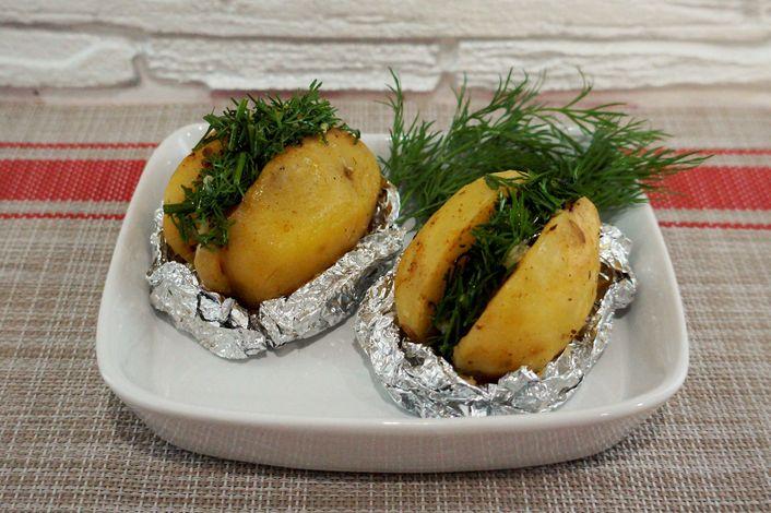 Картошка с салом, запеченные в духовке Картофель, Рецепт, Еда, Кулинария, Блюдо, Питание, Приготовление, Длиннопост