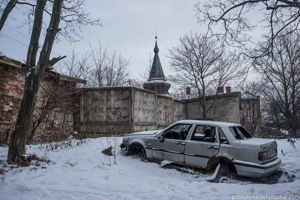 Выборг — брошенный город у границы с Финляндией