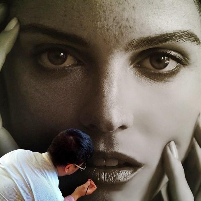 Гиперреализм в живописи (фото)