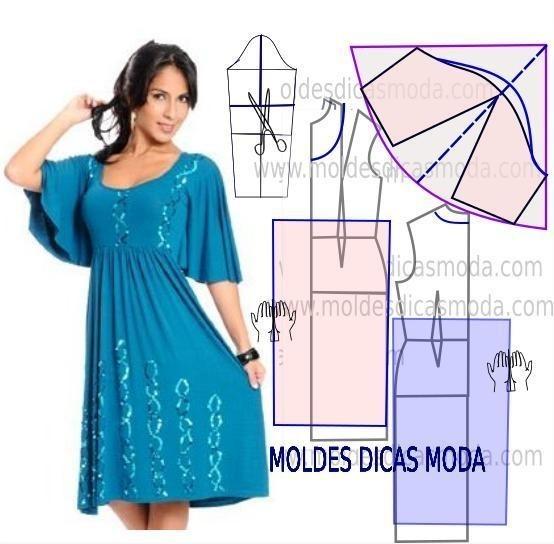 Простые модели летних платьев