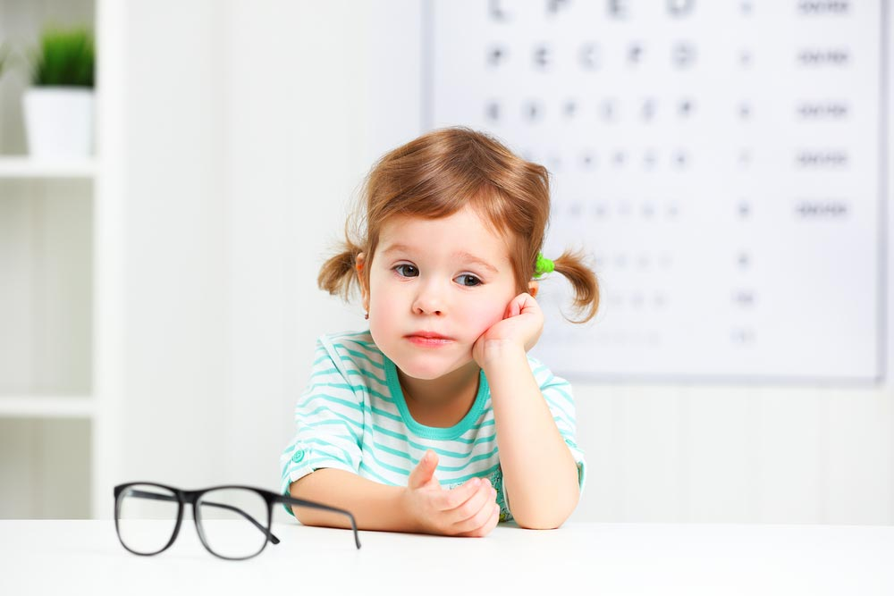 Когда ожидать ухудшения зрения уребенка